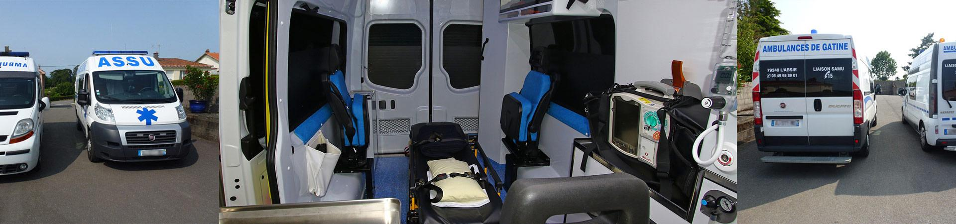 AMBULANCES DE GATINE